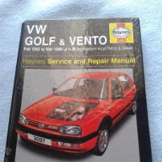 Automobili e Motociclette: VW GOLF & VENTO 1992-1998 ,, HAYNES. Lote 50354285