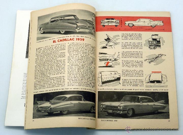 Coches y Motocicletas: Mecánica Popular revista nº 12 Vol 23 Diciembre 1958 Casa californiana Influencia California viviend - Foto 2 - 50528193