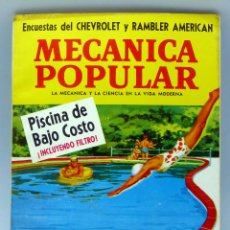 Coches y Motocicletas: MECÁNICA POPULAR REVISTA Nº 6 VOL 28 JUNIO 1961 CHEVROLET PISCINA BAJO COSTO POLO SUR. Lote 50528860
