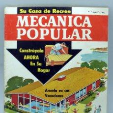 Coches y Motocicletas: MECÁNICA POPULAR REVISTA Nº 5 VOL 30 MAYO 1962 NUEVO PLYMOUTH CAMBIAR FORROS FRENOS . Lote 50529232