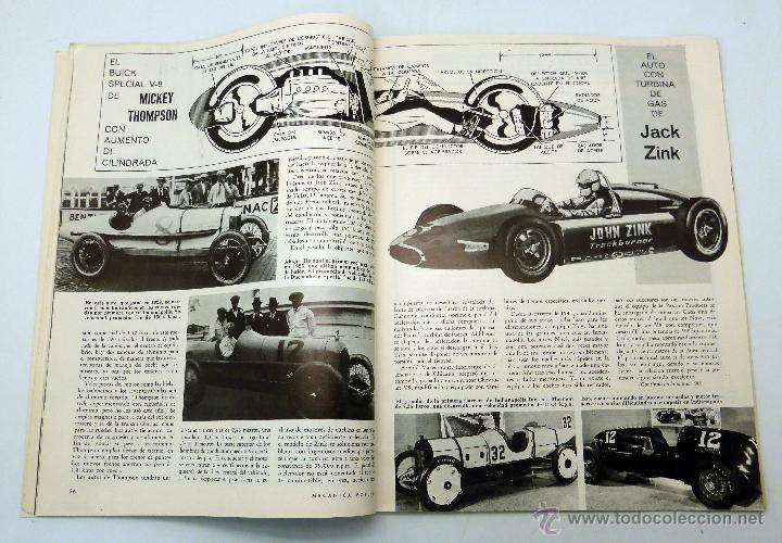 Coches y Motocicletas: Mecánica Popular revista nº 8 Vol 31 Agosto 1962 Carrera Indianápolis Buick V6 Ford Espías industria - Foto 2 - 50529272