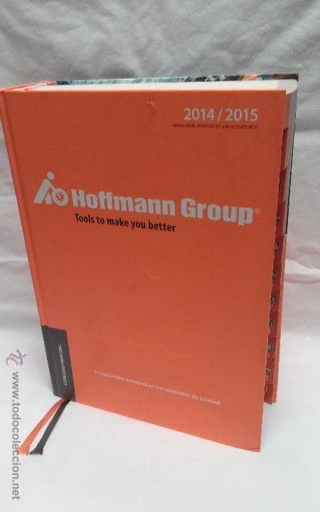 CATALOGO DE HERRAMIENTAS HOFFMANN GROUP AÑO 2014-2015 (Coches y Motocicletas Antiguas y Clásicas - Catálogos, Publicidad y Libros de mecánica)