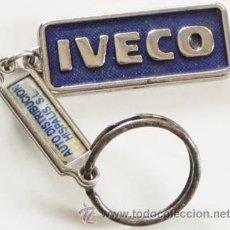 Coches y Motocicletas: LLAVERO - IVECO - LOGOTIPO - PUBLICIDAD DE CAMIONES AUTOBUSES FURGONETAS - TRANSPORTE - LOGO. Lote 50634777