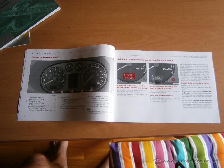 Coches y Motocicletas: manual de uso y entreteimiento mas anexo de actualizaciones audi a3 98 - Foto 7 - 50671157