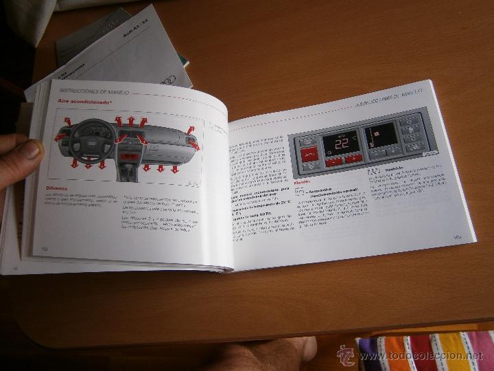 Coches y Motocicletas: manual de uso y entreteimiento mas anexo de actualizaciones audi a3 98 - Foto 8 - 50671157