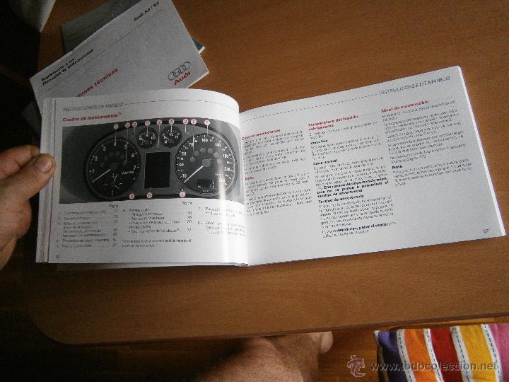 Coches y Motocicletas: manual de uso y entreteimiento mas anexo de actualizaciones audi a3 98 - Foto 9 - 50671157