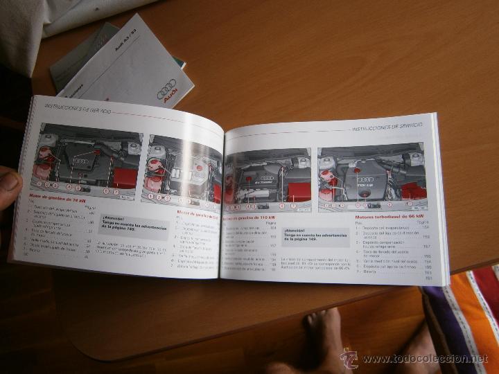 Coches y Motocicletas: manual de uso y entreteimiento mas anexo de actualizaciones audi a3 98 - Foto 11 - 50671157