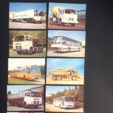 Coches y Motocicletas: COLECCION COMPLETA 12 POSTALES DE CAMIONES PEGASO DE 1974 CAMION AUTOCAR AUTOBUS POSTAL. Lote 50982739