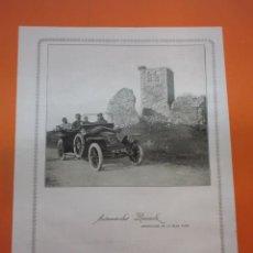 Coches y Motocicletas: PUBLICIDAD 1914 - COLECCION COCHES - AUTOMOVILES RENAULT PROVEEDOR DE LA REAL CASA. Lote 51061012