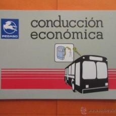 Coches y Motocicletas: INSTRUCCIONES PARA CONDUCCION ECONOMICA DE AUTOBUSES PEGASO. Lote 51509796