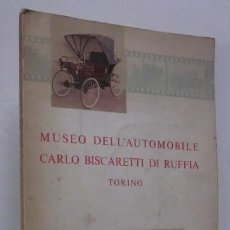 Coches y Motocicletas: MUSEO DELL'AUTOMOBILE CARLO BISCARETTI DI RUFIA - TORINO. Lote 51156934