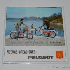 Coches y Motocicletas: CATALOGO MOTOCICLETAS PEUGEOT 49 CC , 4 PAG, ILUSTRADO, BUEN ESTADO. Lote 51228114