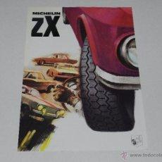 Coches y Motocicletas - CATALOGO RUEDAS MICHELIN ZX , 1 PAG, ILUSTRADO , 30 X 21 CM, SEÑALES DE USO - 51315160
