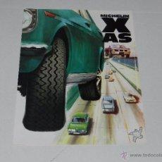 Coches y Motocicletas: CATALOGO RUEDAS MICHELIN X AS , 1 PAG, ILUSTRADO , 30 X 21 CM, SEÑALES DE USO. Lote 51315167