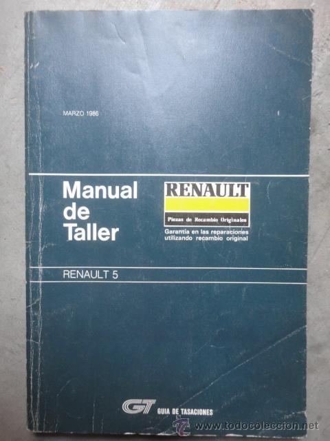 manual taller renault 5 marzo 1986 copa turbo t comprar cat logos rh todocoleccion net manual renault 5 pdf manuel de reparation renault 551