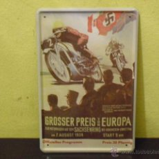 Coches y Motocicletas: GROSSER PREIS VON EUROPA - SACHSENRING - 1938 -. Lote 51446046