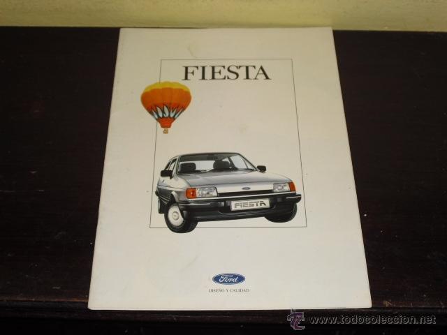 CATÁLOGO FORD FIESTA - 1986 . (Coches y Motocicletas Antiguas y Clásicas - Catálogos, Publicidad y Libros de mecánica)