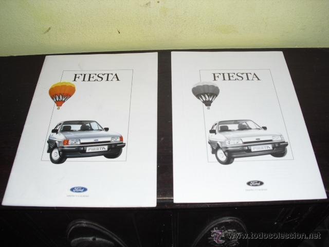 Coches y Motocicletas: CATÁLOGO FORD FIESTA - 1986 . - Foto 2 - 51462274
