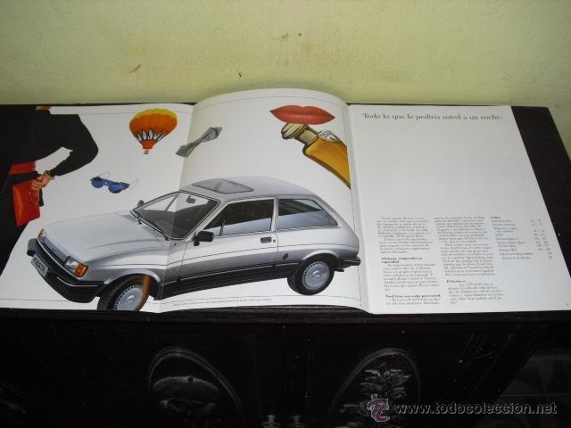 Coches y Motocicletas: CATÁLOGO FORD FIESTA - 1986 . - Foto 5 - 51462274