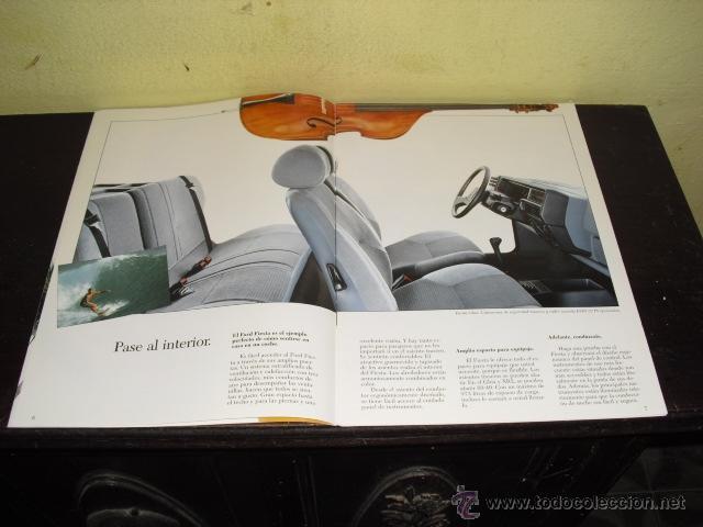 Coches y Motocicletas: CATÁLOGO FORD FIESTA - 1986 . - Foto 6 - 51462274