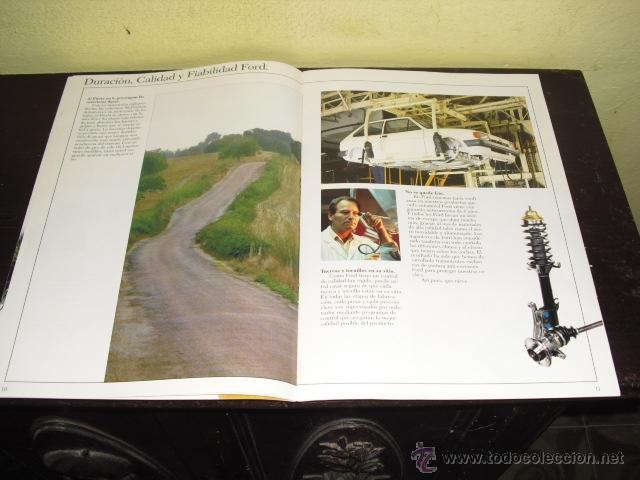 Coches y Motocicletas: CATÁLOGO FORD FIESTA - 1986 . - Foto 8 - 51462274