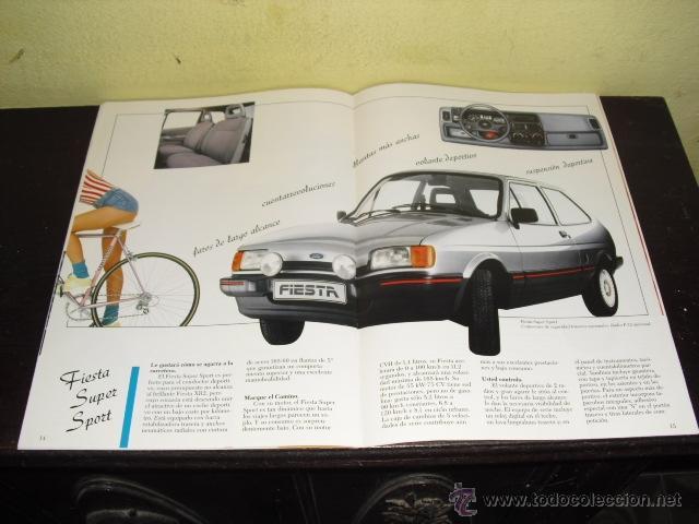 Coches y Motocicletas: CATÁLOGO FORD FIESTA - 1986 . - Foto 9 - 51462274