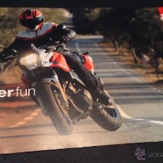 Coches y Motocicletas: FOLLETO CATALOGO APRILIA PEGASO 650 STRADA SUPER FUN. Lote 51525469