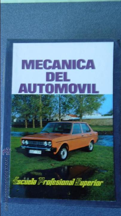 LIBRO MECANICA DEL AUTOMOVIL.3 VOLUMENES.MEDIDA 15X21.238 PG (Coches y Motocicletas Antiguas y Clásicas - Catálogos, Publicidad y Libros de mecánica)
