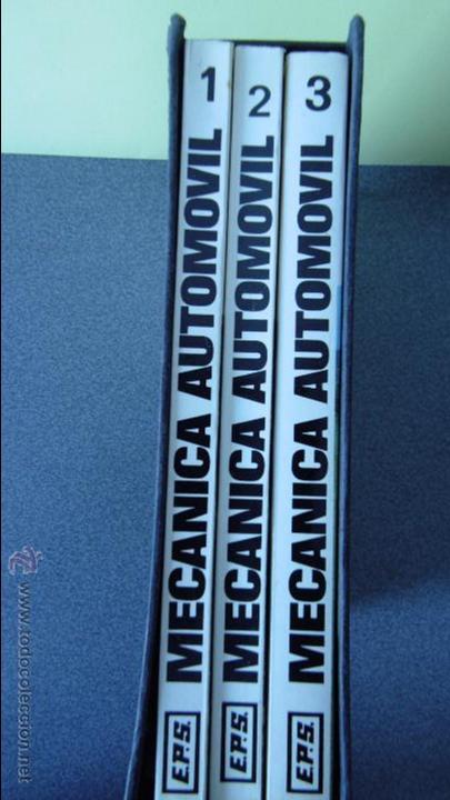 Coches y Motocicletas: libro mecanica del automovil.3 volumenes.medida 15x21.238 pg - Foto 2 - 51634794