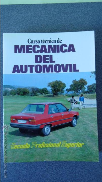 Coches y Motocicletas: libro mecanica del automovil.3 volumenes.medida 15x21.238 pg - Foto 3 - 51634794