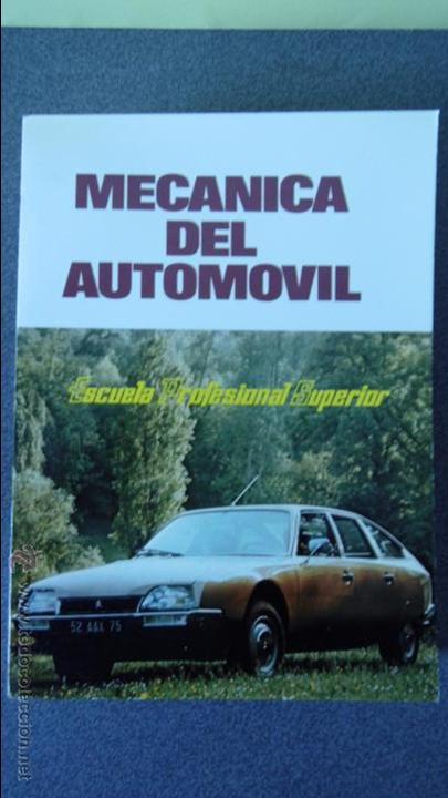 Coches y Motocicletas: libro mecanica del automovil.3 volumenes.medida 15x21.238 pg - Foto 4 - 51634794