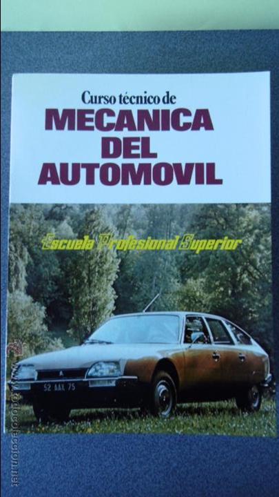 Coches y Motocicletas: libro mecanica del automovil.3 volumenes.medida 15x21.238 pg - Foto 5 - 51634794