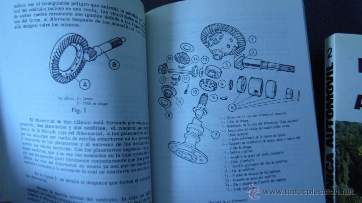 Coches y Motocicletas: libro mecanica del automovil.3 volumenes.medida 15x21.238 pg - Foto 6 - 51634794