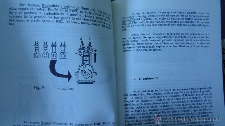 Coches y Motocicletas: libro mecanica del automovil.3 volumenes.medida 15x21.238 pg - Foto 7 - 51634794