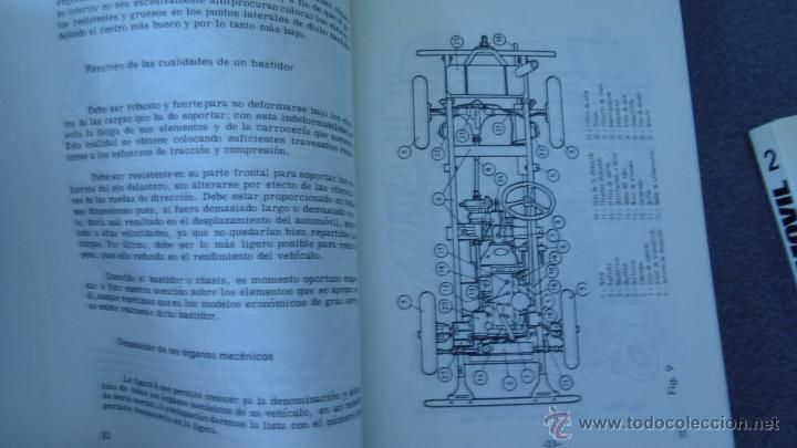 Coches y Motocicletas: libro mecanica del automovil.3 volumenes.medida 15x21.238 pg - Foto 8 - 51634794