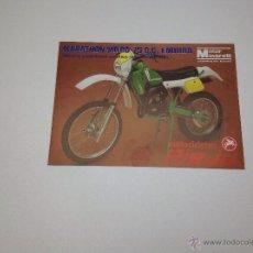Coches y Motocicletas: FOLLETO PUBLICITARIO MOTOS RIEJU ORIGINAL AÑO 1982. Lote 51716855