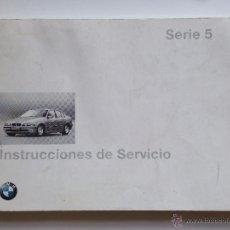 Coches y Motocicletas: MANUAL INSTRUCCIONES USUARIO BMW SERIE 5 E-39 1997. Lote 51960117