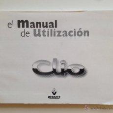 Coches y Motocicletas: MANUAL INSTRUCCIONES USUARIO RENAULT CLIO 1999. Lote 51960961