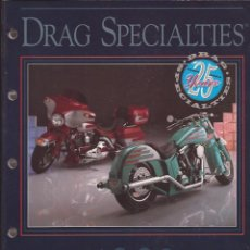 Coches y Motocicletas: ACCESSORIES FOR HARLEY-DAVIDSON / 25 YEARS DRAG SPECIALTIES / MINNEAPOLIS. Lote 52145379