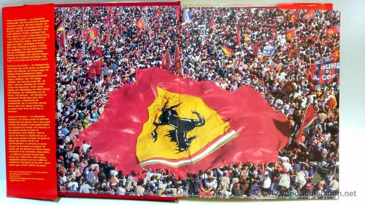 Coches y Motocicletas: FERRARI FORMULA 1. POR RAINER W. SCHLEGELMILCH. AÑO 1996. GRAN FORMATO, VER - Foto 3 - 52363276