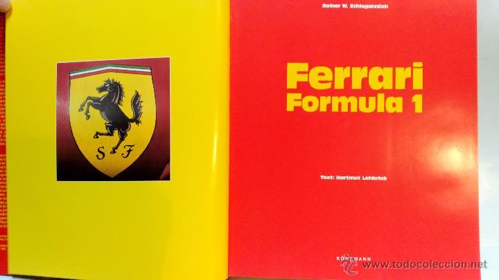 Coches y Motocicletas: FERRARI FORMULA 1. POR RAINER W. SCHLEGELMILCH. AÑO 1996. GRAN FORMATO, VER - Foto 4 - 52363276