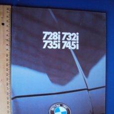 Coches y Motocicletas: (CAT-196)CATALOGO BMW 728I,732I,735I Y 745I,FRANCES,40 PAGINAS. Lote 52428597