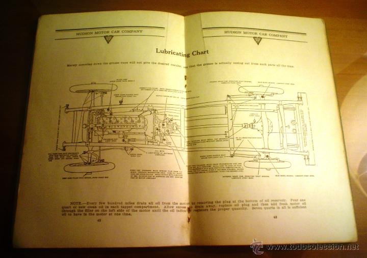 Coches y Motocicletas: INSTRUCTION BOOK. DE HUDSON SUPER-SIX MODEL O. HUDSON MOTOR CAR CO.DETROIT,MICHIGAN, U. S. A. - Foto 3 - 52476619