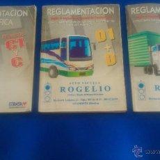 Coches y Motocicletas: LOTE: REGLAMENTACION DE PERMISOS DE CONDUCIR.. Lote 52501380