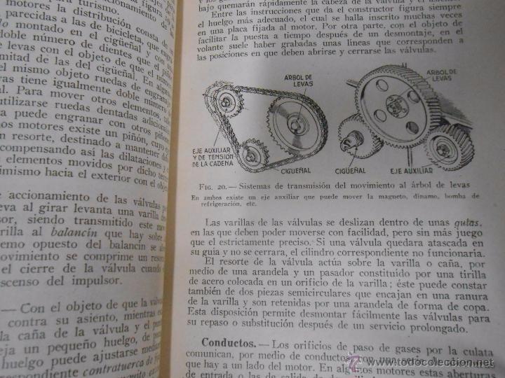 Coches y Motocicletas: MANUAL DEL AUTOMOVIL. LUIS GILI EDITOR. DESCRIPCION COMPLETA EN LENGUAJE SENCILLO. TDK129 - Foto 3 - 52532186