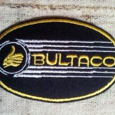 Coches y Motocicletas: PARCHE BULTACO MOTO MOTORISTA , AÑOS 80 . Lote 52542521