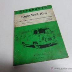 Coches y Motocicletas: FURGONETA SAVA J O 4. Lote 52618895