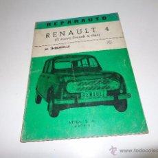 Coches y Motocicletas: REPARAUTO RENAULT 4, MANUAL DE TALLER, ATIKA , Nº23 1968, 42 PÁGS. LOTE 52618. Lote 52633394