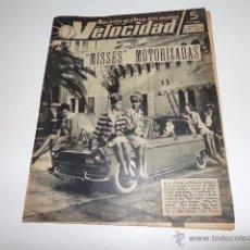 Carros e motociclos: VELOCIDAD REVISTA NUM 75 DE 16 FEBRERO 1963. Lote 52639058
