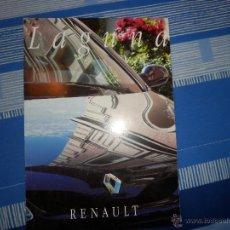 Coches y Motocicletas: CATALOGO RENAULT LAGUNA. Lote 52746612